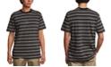 RVCA Men's Slim-Fit Curtis Stripe Knit T-Shirt