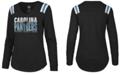 '47 Brand Women's Carolina Panthers Flash Long Sleeve T-Shirt