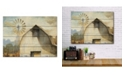 """Courtside Market Barn Country 16"""" x 20"""" Wood Pallet Wall Art"""