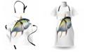Ambesonne Fish Apron