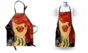 Ambesonne Contemporary Apron