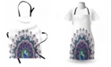 Ambesonne Peacock Apron
