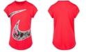 Nike Little Girls Dri-FIT Printed T-Shirt