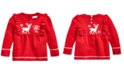 Polo Ralph Lauren Baby Girls Pointelle & Cable-Knit Sweater