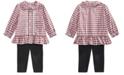 Polo Ralph Lauren Baby Girls Tartan Shirt & Legging Set