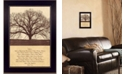 "Trendy Decor 4U Life Is By John Jones, Printed Wall Art, Ready to hang, Black Frame, 14"" x 10"""