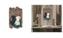 "Trendy Decor 4U Welcome Sign, Two Labradors Porch Decor, Resin Slate Plaque, Ready to hang Decor, 13"" x 7.75"""