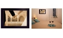 """Trendy Decor 4U Trendy Decor 4U To Have and To Hold By Justin Spivey, Printed Wall Art, Ready to hang, Black Frame, 14"""" x 10"""""""