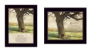 Trendy Decor 4U Trendy Decor 4U Forever By Bonnie Mohr, Printed Wall Art, Ready to hang, Black Frame Collection