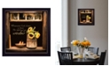 "Trendy Decor 4U God Opens Windows By Robin-Lee Vieira, Printed Wall Art, Ready to hang, Black Frame, 14"" x 14"""