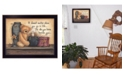 """Trendy Decor 4U The Simple Truth By Mary June, Printed Wall Art, Ready to hang, Black Frame, 18"""" x 14"""""""