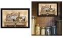 "Trendy Decor 4U Family Still Life By Linda Spivey, Printed Wall Art, Ready to hang, Black Frame, 20"" x 14"""