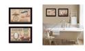 "Trendy Decor 4U Trendy Decor 4U Country Bath III Collection By Pam Britton, Printed Wall Art, Ready to hang, Black Frame, 18"" x 14"""