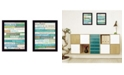 """Trendy Decor 4U Live in The Present Collection By Marla Rae, Printed Wall Art, Ready to hang, Black Frame, 14"""" x 18"""""""