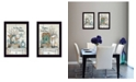 """Trendy Decor 4U Home Sweet Home Collection By Mary June, Printed Wall Art, Ready to hang, Black Frame, 28"""" x 20"""""""