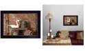 """Trendy Decor 4U Home Sweet Home by Billy Jacobs, Ready to hang Framed Print, Black Frame, 20"""" x 14"""""""
