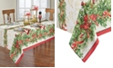 "Elrene Holly Traditions Holiday Tablecloth - 60"" x 144"""