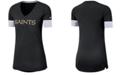 Nike Women's New Orleans Saints Dri-Fit Fan Top