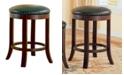 """Coaster Home Furnishings Kodiak 29"""" Swivel Bar Stools with Upholstered Seat, Set of 2"""