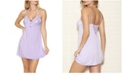 iCollection Alicia Day and Night Lace Chemise Nightgown, Online Only