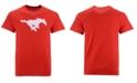 New Agenda Men's Southern Methodist Mustangs Big Logo T-Shirt