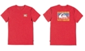 Quiksilver Big Boys Cotton Checked Out T-Shirt