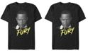 Marvel Men's Captain Marvel Nick Fury Big Face Portrait, Short Sleeve T-shirt