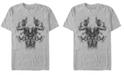 Marvel Men's Avengers Endgame Smokey Skull, Short Sleeve T-shirt