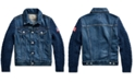Polo Ralph Lauren Big Girls Hybrid Denim Trucker Jacket