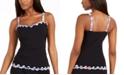 Profile by Gottex Tricolore Ruffled Underwire Tankini Top, Created for Macy's