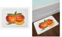 Ambesonne Peach Bath Mat