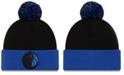 New Era Dallas Mavericks Black Pop Knit Hat