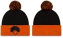 New Era New York Knicks Black Pop Knit Hat