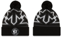 New Era Brooklyn Nets Big Flake Pom Knit Hat