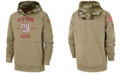 Nike Men's New York Giants Salute To Service Therma Hoodie