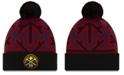 New Era Denver Nuggets Big Flake Pom Knit Hat