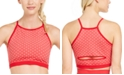 Ideology Heart-Print Seamless Low-Impact Sports Bra, Created for Macy's