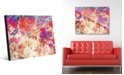 Creative Gallery Splatter Shop Vermillion Abstract Acrylic Wall Art Print Collection