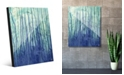 Creative Gallery Running Up in Blue Abstract Acrylic Wall Art Print Collection
