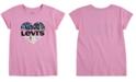Levi's Little Girls Cotton NYC Heart T-Shirt