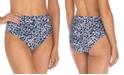 Raisins Juniors' Darwin High-Waist Bikini Bottoms, Created For Macy's