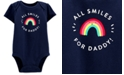 Carter's Baby Girls Cotton All Smiles For Daddy Bodysuit