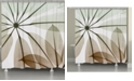 Laural Home Earthy Brassy Shower Curtain