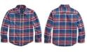 Polo Ralph Lauren Little Boys Plaid Cotton Twill Workshirt