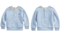 Polo Ralph Lauren Baby Boys Twill Terry Sweatshirt