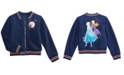 Disney Little Girls Frozen II Elsa & Anna Bomber Jacket
