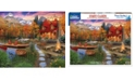 White Mountain Puzzles Cozy Cabin 1000 Piece Jigsaw Puzzle