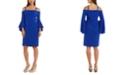 R & M Richards Bell-Sleeve Sheath Dress