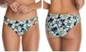 Raisins Juniors' In Bloom Weekend Cutout Bikini Bottoms
