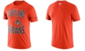 Nike Men's Cleveland Browns Dri-FIT Cotton Property of T-Shirt